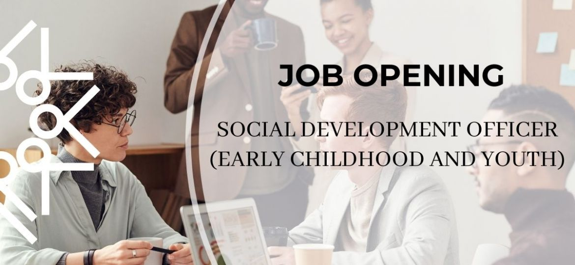 job opening social development officer