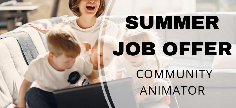summer job-comm animator